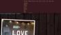 Napis love wynajem Warszawa Otwock | HappyEvent4You