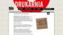 Personalizacja druku, sztancowanie - Warszawa | Bingraf